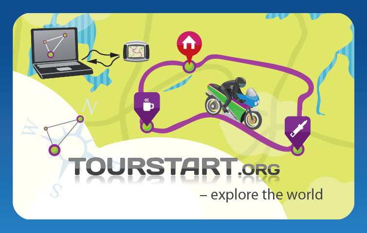 Tourstart-BikeShow-demonstrating-functions-of-motorcycle-route-planning